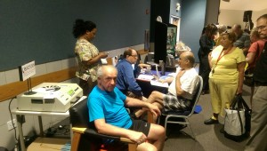 Dr. Mark Ziffer at Senior Expo in Delray Beach
