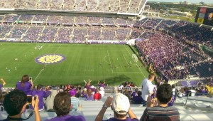 Orlando Lions opening day