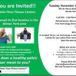 Open House Tuesday Nov 17 at Fitness Center Winter Park FL